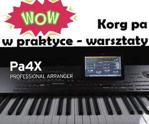 Korg pa4x, pa1000, pa700, pa3x, pa900 pa600 szkolenie warsztaty