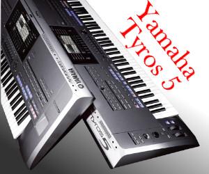 Yamaha Tyros 5 - wskazówki, informacje