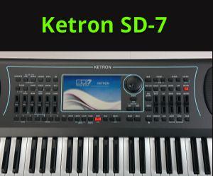 Ketron SD7 - wskazówki, informacje