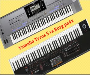 Yamaha Tyros 5 VS Korg pa4x which is the best?