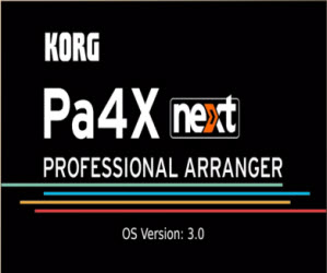 Korg pa4x nowy OS v3.0 - dowiedz się co nowego