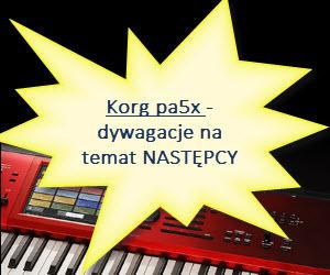 Korg pa5x - wskazówki, informacje