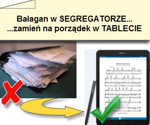 Jak pozbyć się segregatorów z tekstami w zespole muzycznym? - szkolenie (warsztaty) - kurs