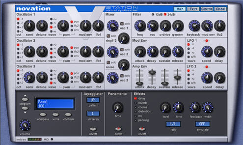 Novation V-Station Presets MegaPack Vol.1