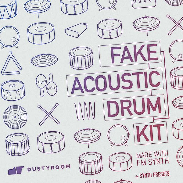 fake-acoustic-drum-kit