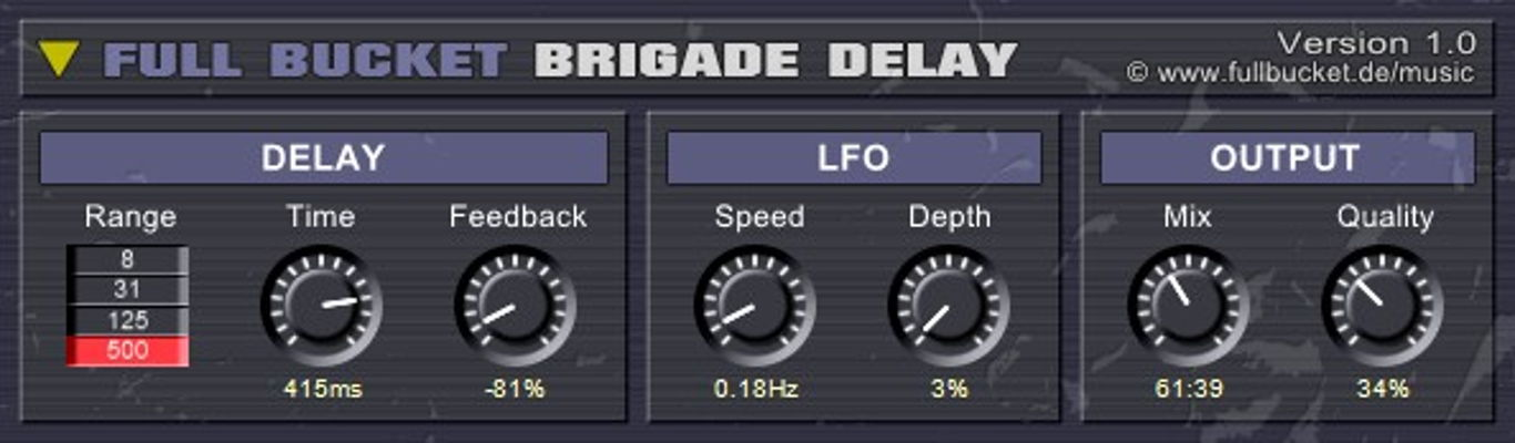 full-bucket-brigade-delay