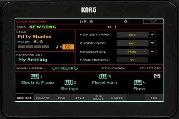korg pa4x OS v3.0 new operating system for korg 2019