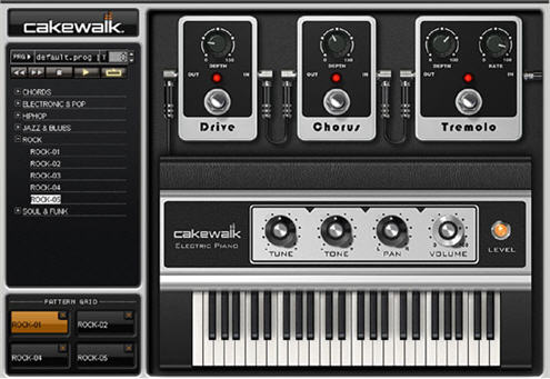 cakewalk electric piano