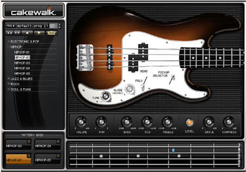 cakewalk guitarbass