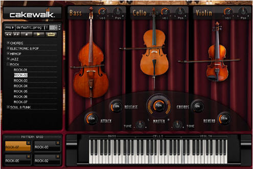 cakewalk strings