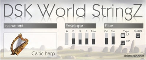DSK - World StringZ v1.0 freeware vsti