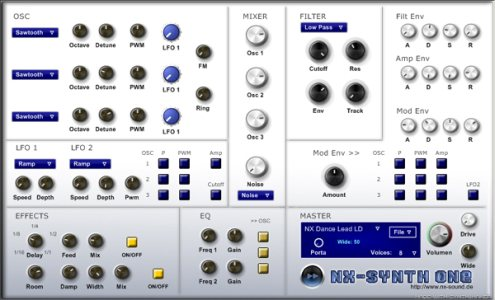 nX-Sound - nX-Synth 2.20