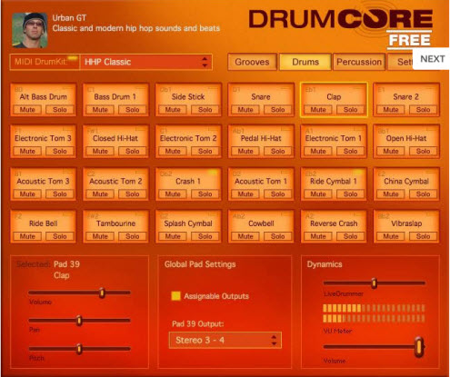 Submersible Music - DrumCore FREE