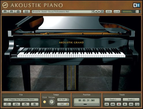 akoustik piano from Native Instruments