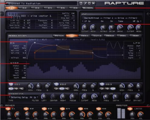 Cakewalk - Rapture v1.2