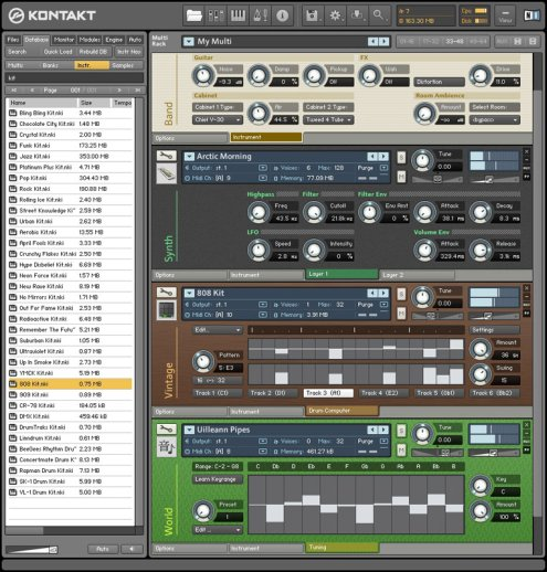 Native Instruments - Kontakt v3.5 beta
