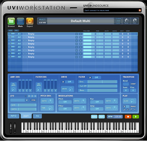 Univers Sons - UVI Workstation