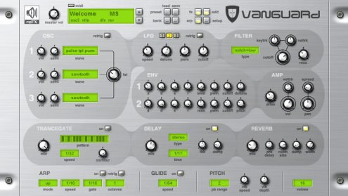 Genesis sound bank dla reFX Vanguard Vst