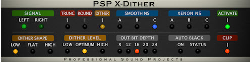 pspaudioware xdither